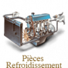 Cooling system spare parts for Renault Goélette