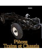 Trains et suspension Panhard PL17