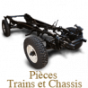 Axle and suspension spare parts for Panhard 24 BT-CT
