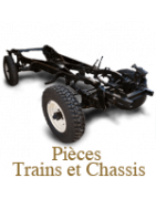Collectible Simca 5 train and chassis parts