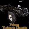 Pièces détachées train et chassis de Simca 5 de collection