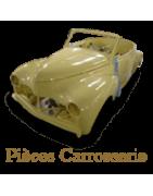 Pièces détachées Carrosserie pour Peugeot 403, berline, cabriolet ...