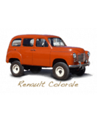 Renault Colorale Prairie, Fourgon, Pick-up, 4x4, Taxi