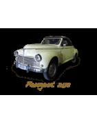 Pièces détachées pour Peugeot 203 berline cabriolet fourgon