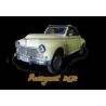 Spare parts for Peugeot 203 coupe, sedan, convertible, van