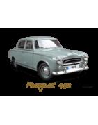 Peugeot 403 berline, cabriolet, familiale, utilitaire