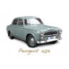 Spare parts for Peugeot 403 Sedan convertible utility
