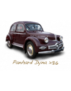 Spare parts for Panhard Dyna x86
