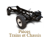 Train and chassis spare parts for Renault 4cv