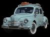 Pièces détachée externes carrosserie pour Renault 4cv