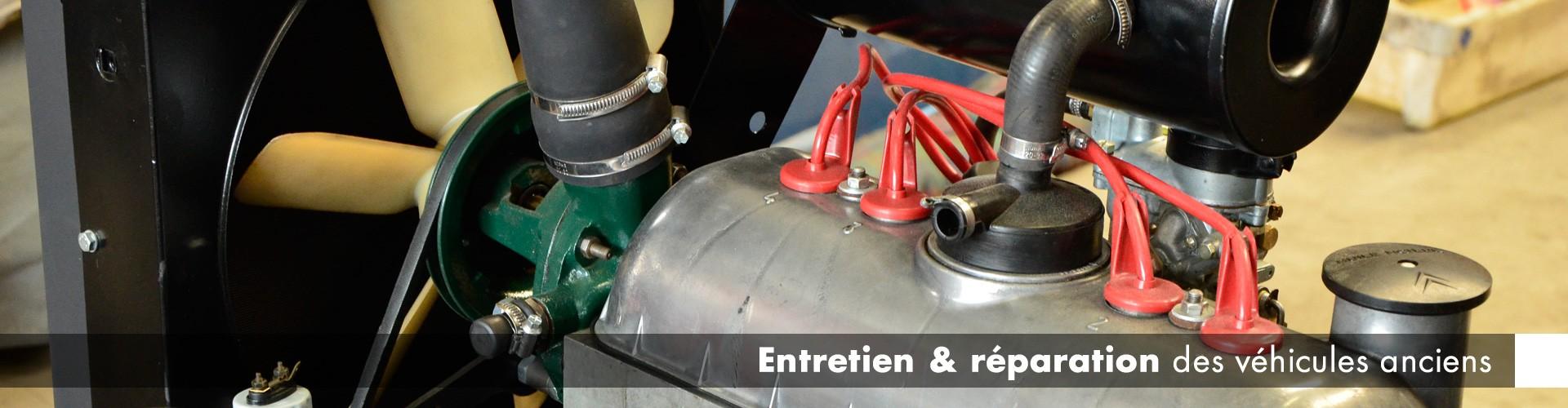 Entretien et réparation des véhicules anciens