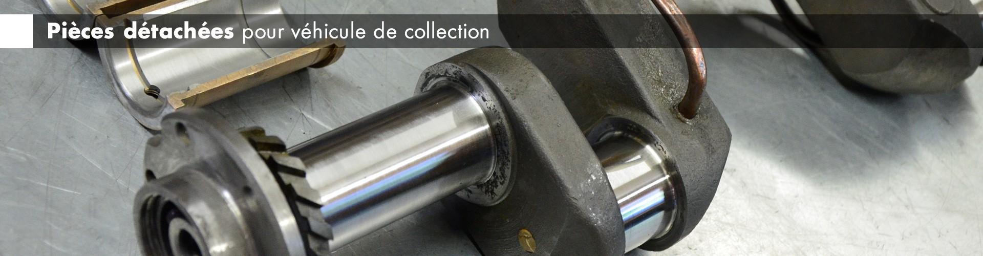 Spécialiste en pièces détachées pour véhicule de collection